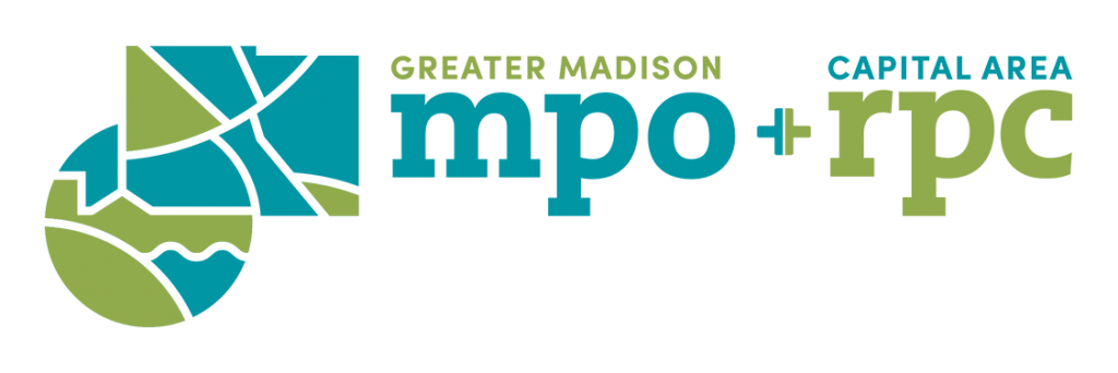 Greater Madison MPO and Capital Area RPC logos